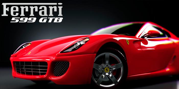 Modelado del Ferrari 599GT con Softimage