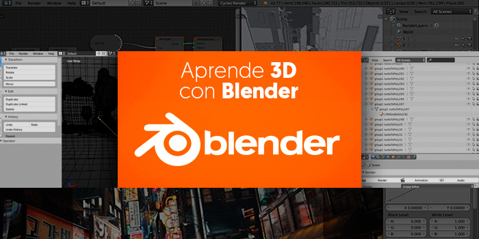 Las herramientas de modelado en Blender ya online