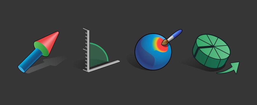 Nuevos iconos en Blender 2.8, un primer vistazo